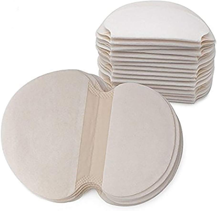 Axila absorción de sudor almohadilla 50 Pcs, Axilas Antitranspirante Pads, cómodas, desechables de absorción de sudor almohadillas de verano, no visibles, Eliminar Olor