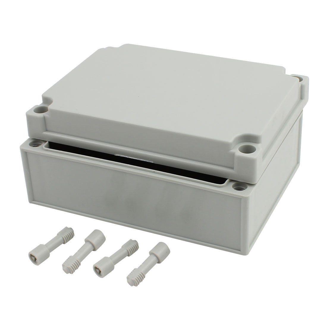 uxcell 175mm x 125mm x 75mm Dustproof IP65 Junction Box DIY Case Enclosure Gray