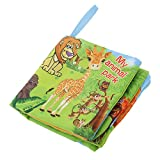 Colorful Cute Baby Soft Cloth Book Cognize Books Toddler Educational Toys - Animal Park