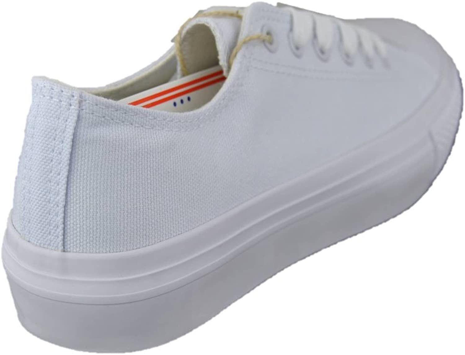 Original Marines OMS Sneakers Donna Canvas Tela Bianche con