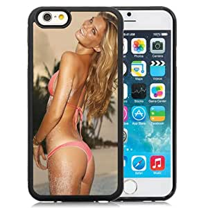 Beautiful Custom Designed Cover Case For iPhone 6 4.7 Inch TPU With Bar Refaeli Pink Bikini Phone Case Cover