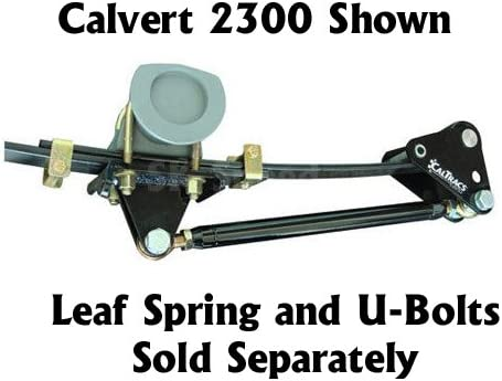 Calvert 2101 CalTracs Traction Bars 1955-1957 Chevy Belair Low Profile 1 Hole 2//
