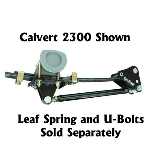 Racing Traction (Calvert Racing 2300 CalTrac Traction Bars Camaro Firebird 1967-1969)