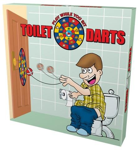 Toilet Darts Play While You Sit