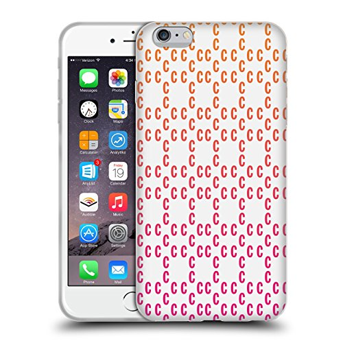 Official Cosmopolitan Pattern 2 Logo Soft Gel Case for Apple iPhone 6 Plus / 6s Plus