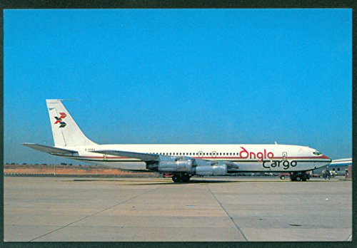 Commercial Airplanes Boeing - Anglo Cargo Boeing Commercial Airplane 707 Continental Postcard