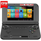 GPD XD Plus by XAMMBOX-2018 Version 5 Touchscreen Portable Gaming Handheld Android Video Game Console Android 7.1.1 Nougat Mediatek MT8176 Quad-Core CPU GX6250 GPU, 4GB RAM, 32GB ROM, 6000mAh Battery