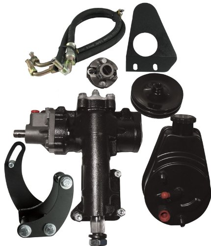 Air Bel Chevy Power Steering - Borgeson 999006 Power Steering Conversion Kit