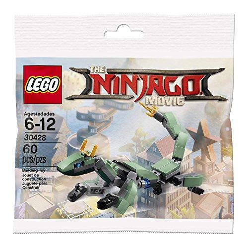 Lego The Ninjago Movie 30428 Green Ninja Mech Dragon 60pcs Import