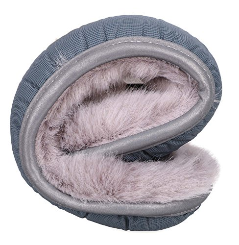 Arctic Paw Men's and Women's Unisex Sherpa Lined Foldable Sport Earmuffs
