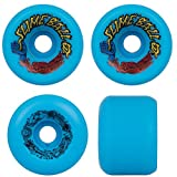 SANTA CRUZ Old School Re-Issue Skateboard Wheels 60mm SLIME BALLS VOMITS BLUE