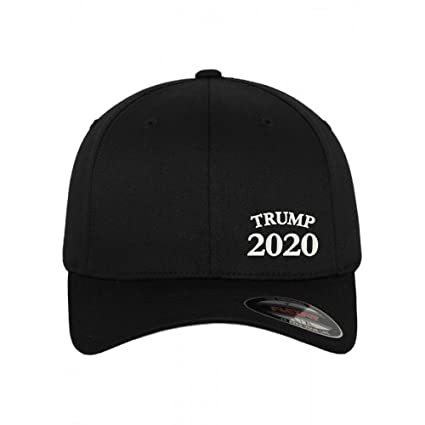 cfdd55edc9 Amazon.com  Trump 2020 Make America Great Again! Flexfit 6277 Hat ...