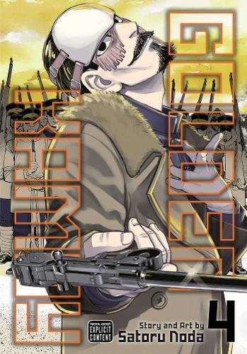 Golden Kamuy, Vol. 4 (Mystery Of History Volume 4)