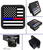 USA US American Flag Trailer Hitch Cover tube Plug Insert (Fits 2'' Receivers)