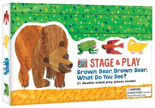 The World of Eric Carle(TM) Brown Bear, Brown Bear, What Do You See? Stage & Play -