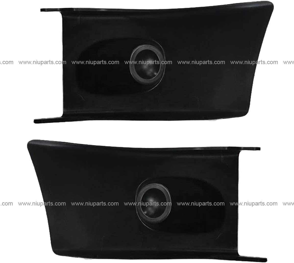 Fit: 2002-2016 Freightliner M2 106 112 Bussiness Class Plastic Bumper End Dark Gray Driver and Passenger Side