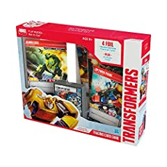 Start your journeywith the Autobots starter set, 2 players can start playing the game -or- 1 player can use this set for full game play. Players can add cards to their teams and decks with booster packs ((sold separately and subject to availa...