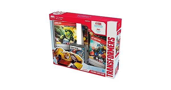 Transformers Promo Card Set Optimus Prime Bumblebee Ironhide Red Alert