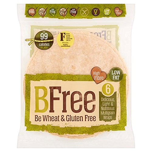 BFree Gluten Free Multigrain Wrap, 8.89 Ounce (Pack of 12) by BFree