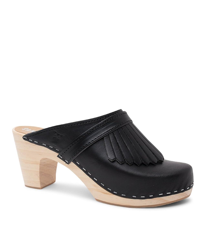 16d407ecca8c5 Amazon.com | Sandgrens Swedish Clog Mules High Rise Wooden Heel for ...