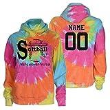 JANT Girl Custom Softball Tie Dye Sweatshirt - We're Allowed to Steal Logo