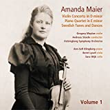 Maier: Violin Concerto/Piano Q