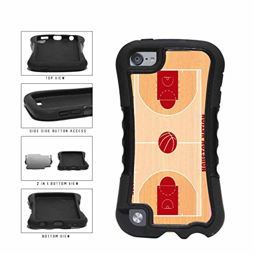 Houston Nation 2-Piece Dual Layer Phone Case Back Cover iPod 5