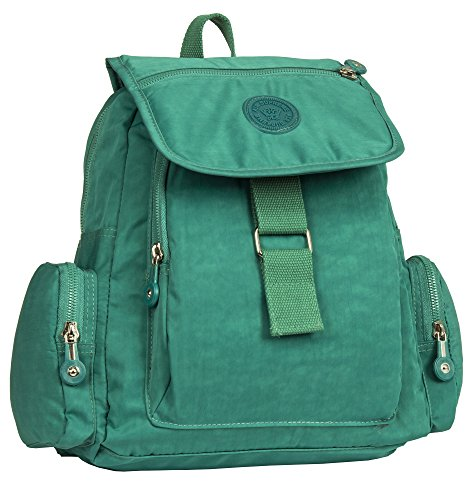 In Handbag Rainproof 5 Turquoise Rucksack Various Big Shop Unisex Backpack Lightweight Fabric Sizes Style dIwxn8pnqU