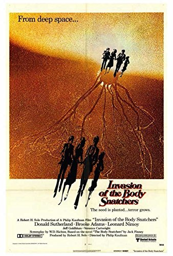 Invasion of the Body Snatchers Poster Donald SutherlandBrooke Adams Veronica Cartwright