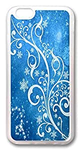 ACESR Blue Winter Rugged iPhone 6 Cases, TPU Case for Apple iPhone 6 (4.7inch) Transparent