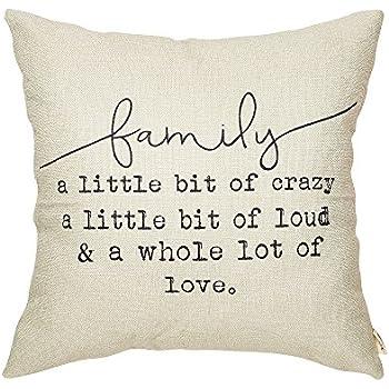 Amazon Com Fjfz Family A Little Bit Of Crazy A Little Bit Of Loud
