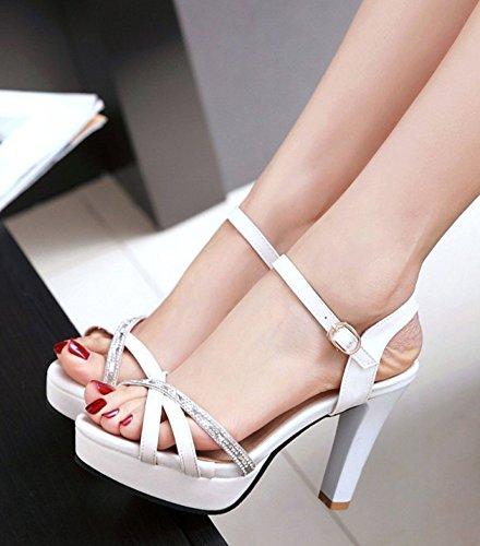 Femmes Sandales Fuchsia / Blanc / Rose Madeleine GeY4LG