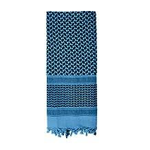 Rothco Lightweight Shemagh Desert Scarf - Blue/Black