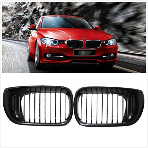 Price comparison product image Front Kidney Grill Grilles for BMW E46 2002-2006 4 door 4D 3 Series Car Front Bumper Grille Gloss Black
