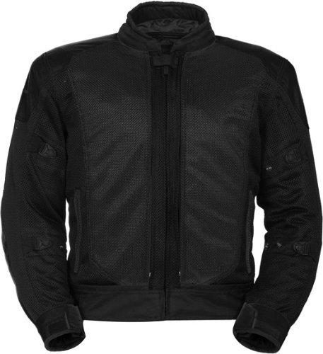 Series Textile Jacket (TourMaster Flex Series 3 Men's Convertible Textile Armored Motorcycle Jacket (Black, Medium) by Tourmaster)