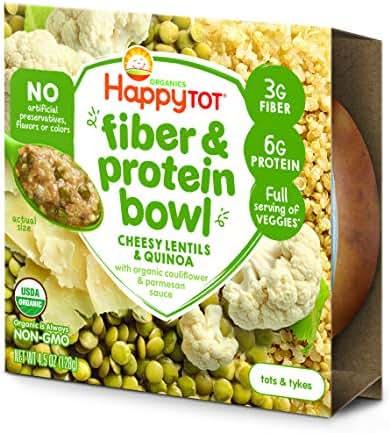 Baby Food: Happy Tot Fiber & Protein Bowl