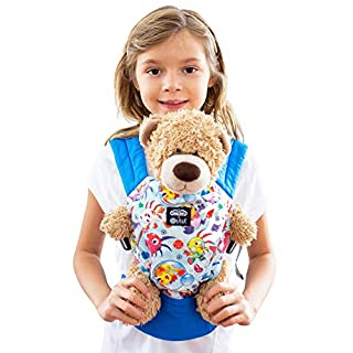 Disney Baby Collection Doll Carrier by LÍLLÉbaby, Sunday Funnies - Baby Doll Carrier for Dolls and Other Toys