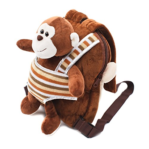(Cute Toy Toddler Backpack - Kids Stuffed Animal Toy Backpack - Kids Backpacks for Boys and Girls with Plush Toy)