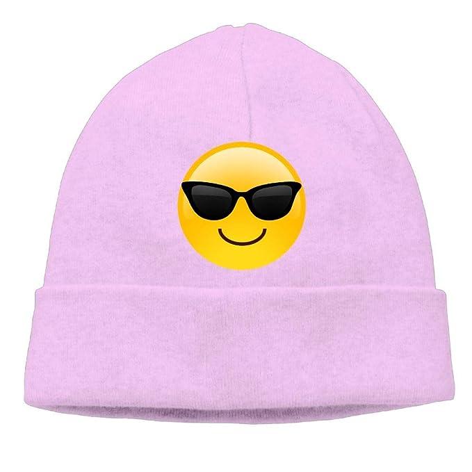 3471a7247688d Amazon.com  Ghhpws Sunglasses Emoji Beanie Wool Hats Knit Skull Caps ...