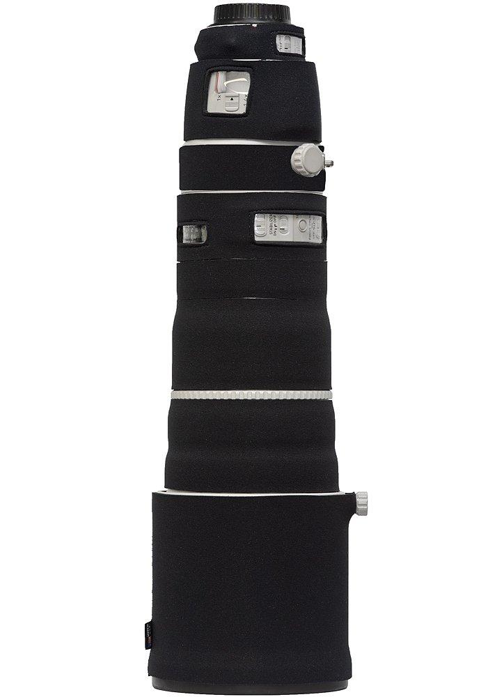 LensCoat Lens Cover for Canon 200-400 is f4 Neoprene Camera Lens Protection Sleeve (Black) lenscoat