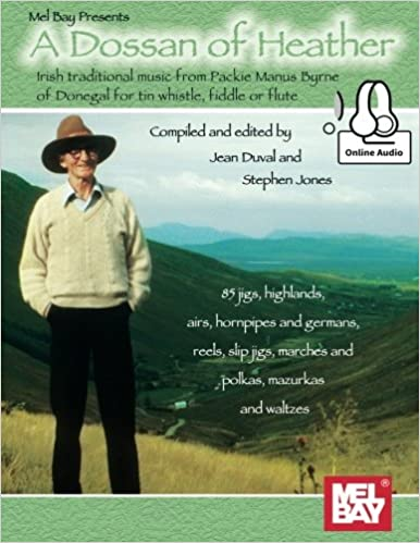 Book A Dossan of Heather: Irish traditional music from Packie Manus Byrne of Donegal