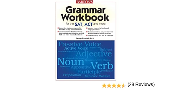 Amazon.com: Grammar Workbook for the SAT, ACT, and More ...