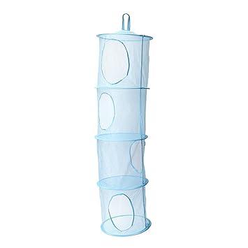 Adaman Mesh Hanging Storage With 4 Compartments, Toy Hanging Storage  Organizer For Kidsu0026 Baby Room