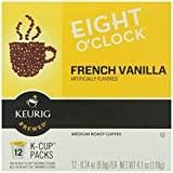 8 0'Clock Frnch Vanilla Kcup, Pack of 18