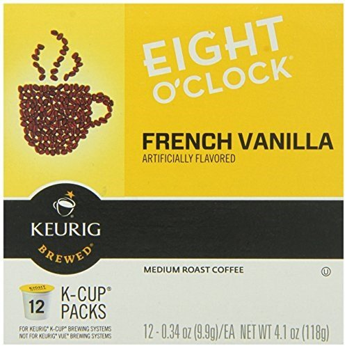 8 0'Clock Frnch Vanilla Kcup, Pack of 18 by Eight O'Clock Coffee