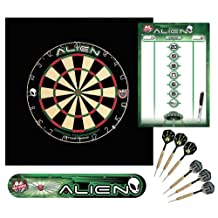 Dart World Area 51 Alien Dartboard Kit