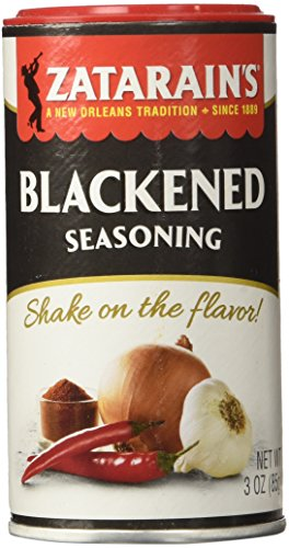 Zatarains Blackened Seasoning, 3 oz (Pack of - Blackening Seasoning Cajun