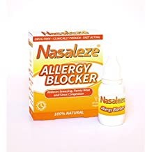 NATURAL PET & DUST Allergy and Hay fever blocker, Anti allergy, Allergy blocker powder spray : NASALEZE