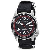 Momentum Men's 1M-DV74R7B Analog Display Japanese Quartz Black Watch