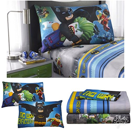 Boutique Toddler Bedding (Lego Batman Kids Twin Bedding Sheet Set)